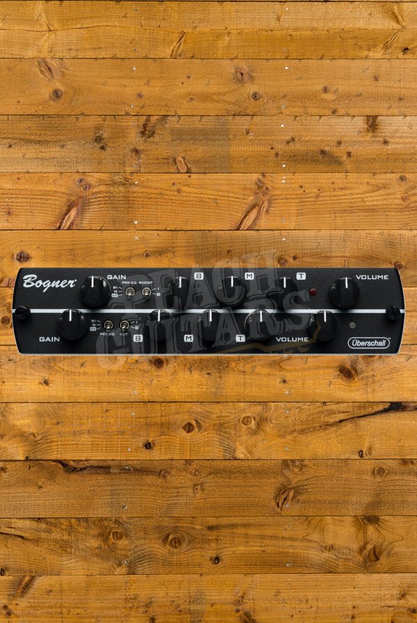 Synergy Bogner Uberschall - 2 Channel Preamp Module