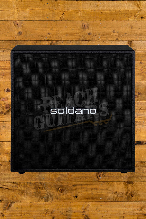 "Soldano 412 Straight Classic 4x12"" Straight Cabinet - Celestion Vintage 30s"