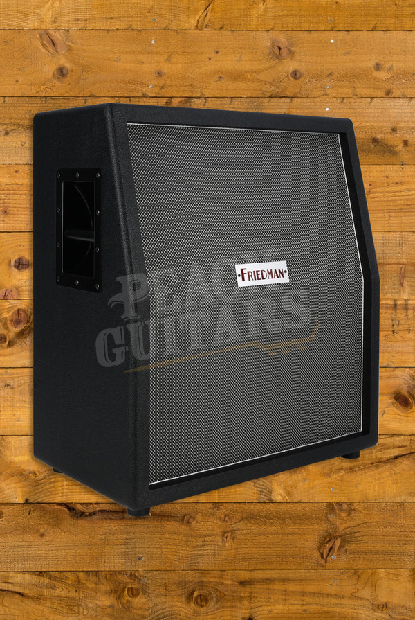 Friedman Vertical 2x12 Cab with V30s with Silver/Black weave