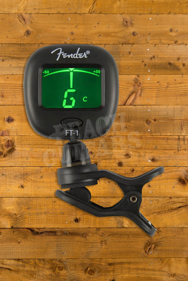 Fender FT-1 Pro Clip-On Tuner, Black
