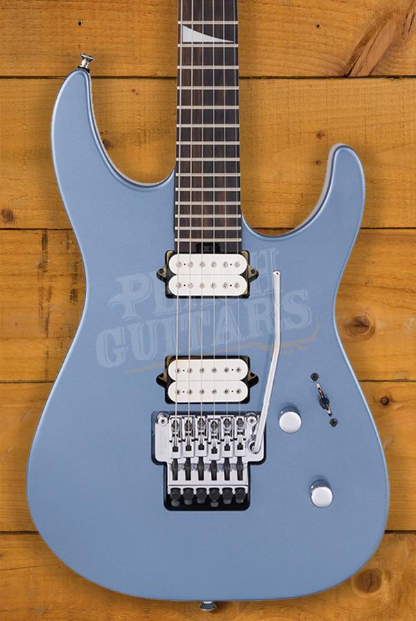 Jackson MJ Series Dinky DKR, Ebony Fingerboard, Ice Blue Metallic