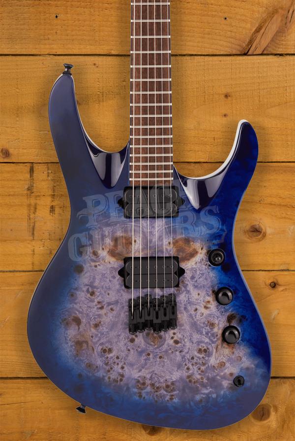 Jackson Pro Series Chris Broderick Signature HT6 Soloist Transparent Blue
