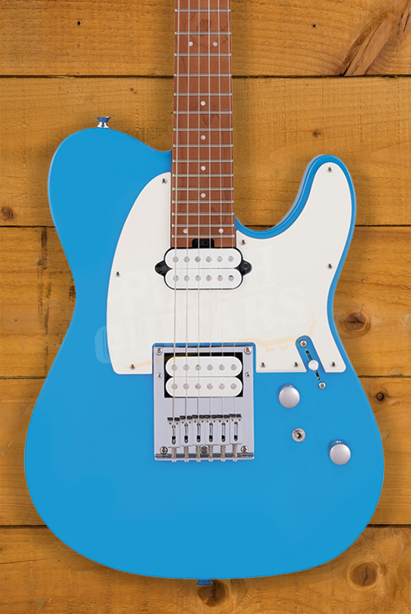 Charvel Pro-Mod So-Cal Style 2 24 HT HH CM, Caramelized Fingerboard, Robin's Egg Blue