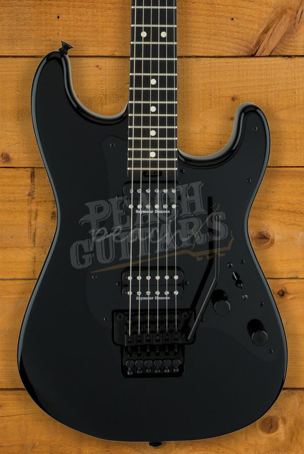 Charvel Pro Mod SO Cal Style 1 HH Gloss Black Ebony Fingerboard