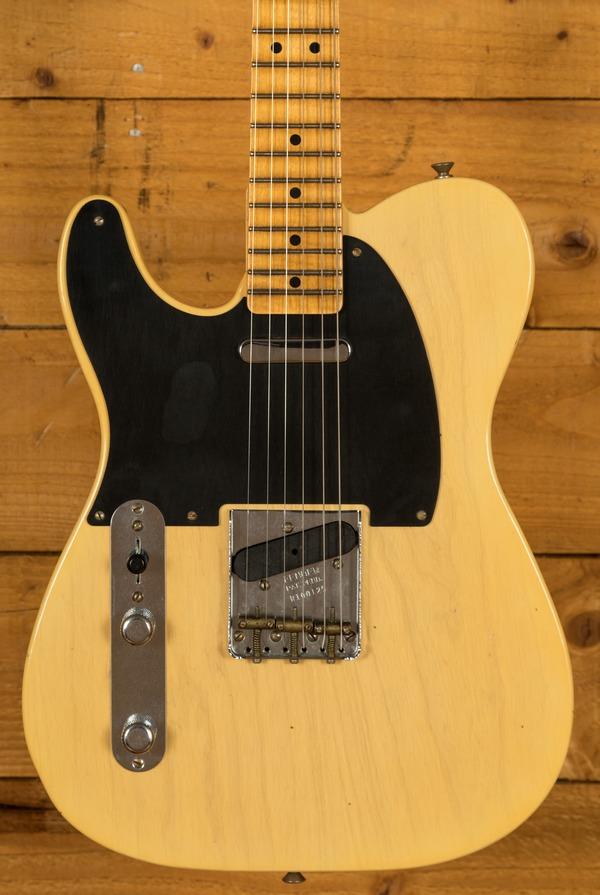 Fender Custom Shop Limited Edition '51 Tele LH Journeyman Faded Nocaster Blonde