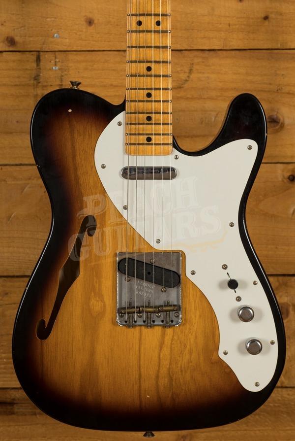 Fender Custom Shop Nocaster Thinline Journeyman Relic 2 Tone Sunburst
