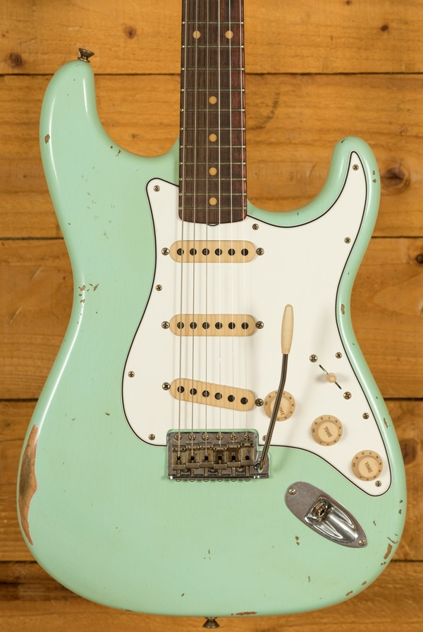 Fender Custom Shop Late 59 Strat Relic Aged Surf Green