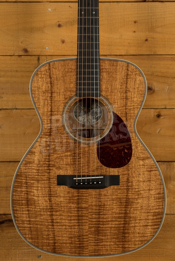Collings OM2H Koa Top with Koa back and Sides
