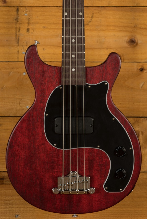Gibson Les Paul Junior Tribute DC Bass - Worn Cherry