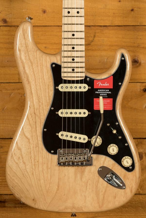 Fender American Pro Stratocaster Maple Natural