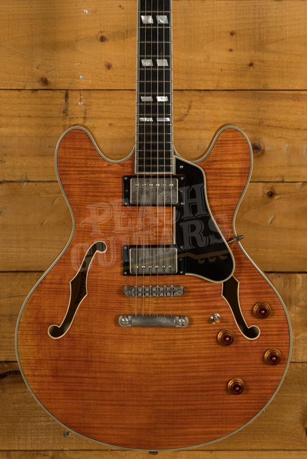 Eastman T59V Antique Amber Finish