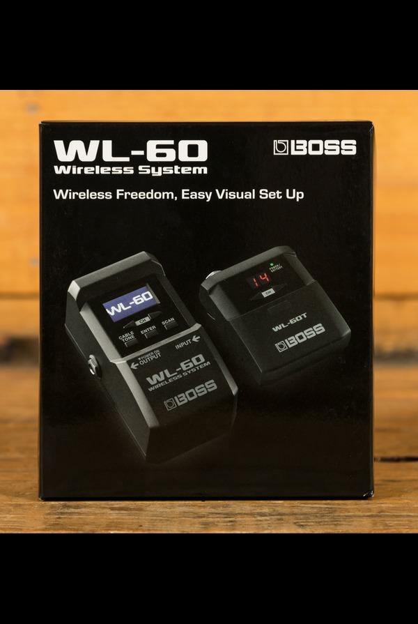 Boss WL-60 Wireless Visual Guitar System