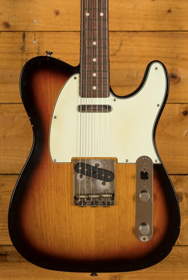 Xotic California Classic XTC-1 Alder 3 Tone Burst Light Aged