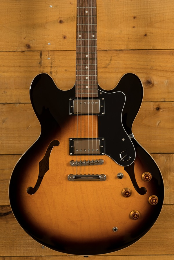 Epiphone Dot 335 Vintage Sunburst Chrome Hardware