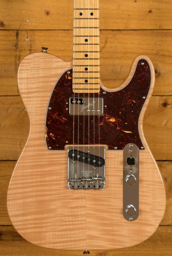 Fender USA Rarities Flametop Chambered Tele MN Natural