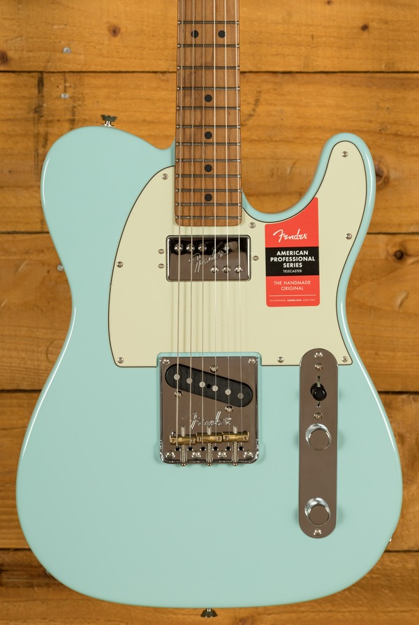 Fender Limited Edition American Pro Tele Roasted Mapled Neck Daphne Blue