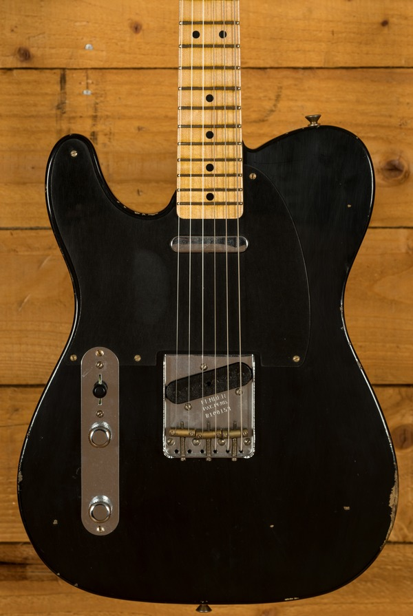 Fender Custom Shop 51 Nocaster Relic Left Handed MN Black