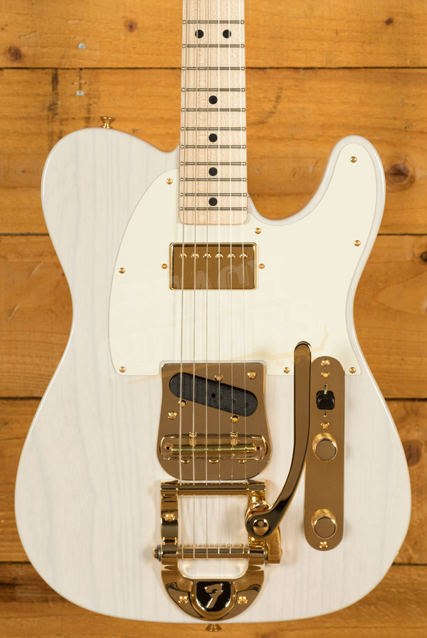 Fender Custom Shop Bigsby Tele NOS MB Dennis Galuszka White Blonde