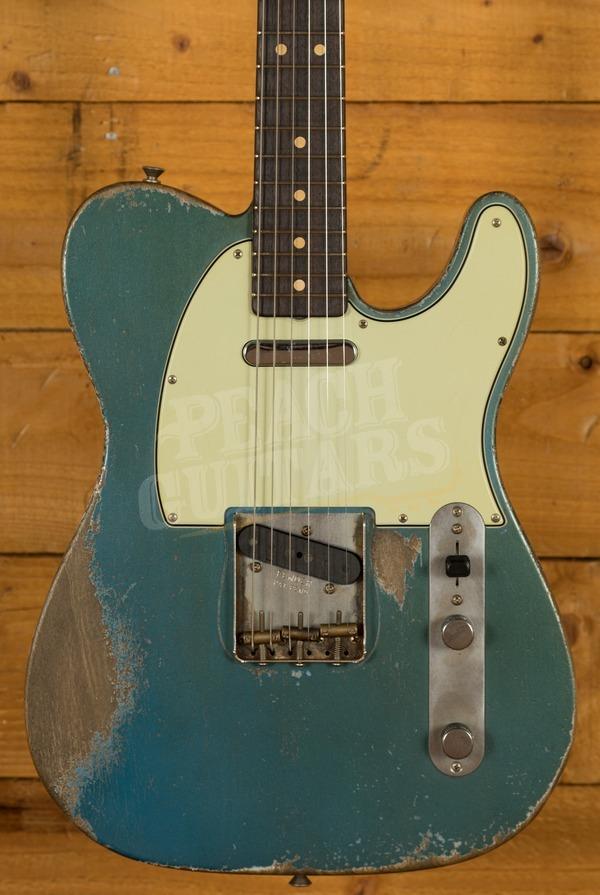 Fender Custom Shop '63 Tele Dale Wilson Heavy Relic Rosewood Lake Placid Blue