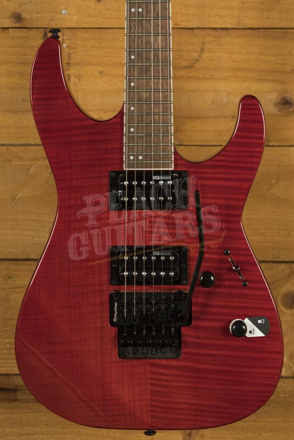 ESP LTD M-200 FM See Thru Red