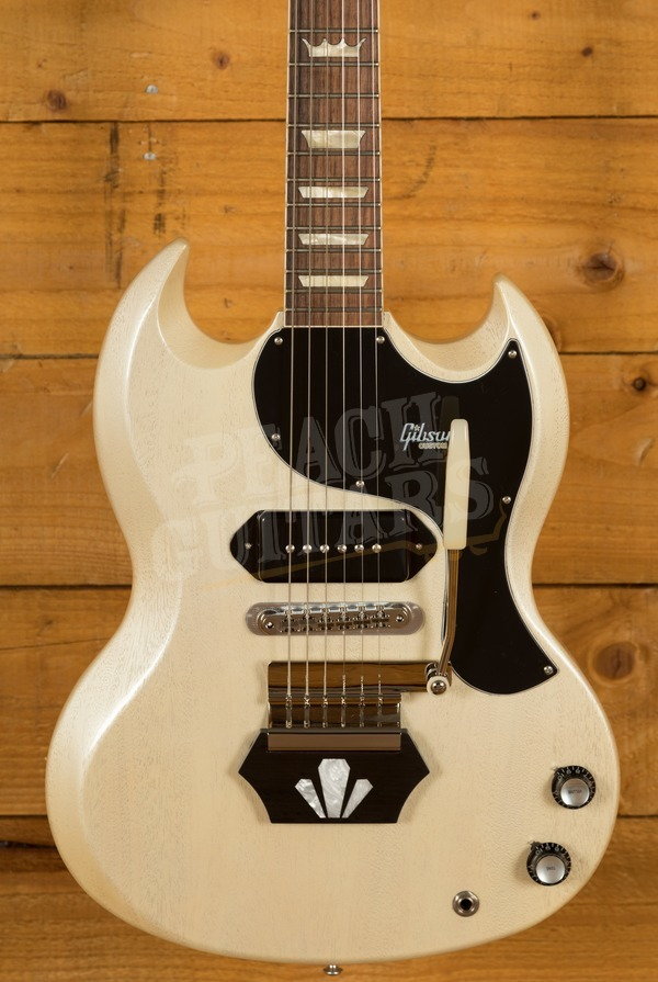 Gibson Custom Brian Ray '62 SG Junior White Fox