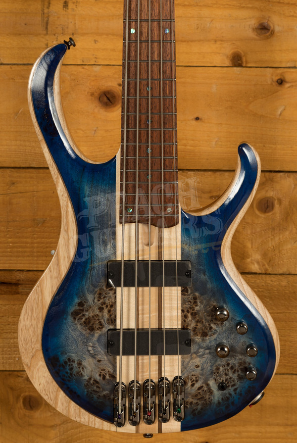 Ibanez BTB845-CBL Cerulean Blue Burst Low Gloss