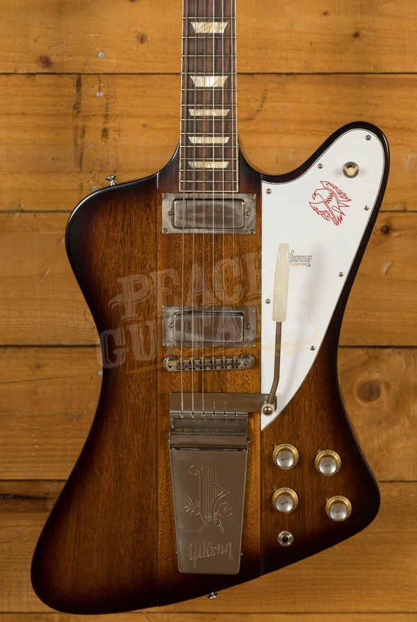 Gibson Custom 1963 Firebird V w/ Maestro Vibrola VOS Vintage Sunburst