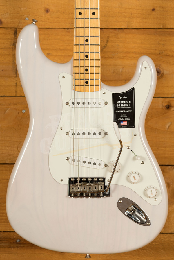 Fender American Original '50s Strat - Maple Neck, White Blonde