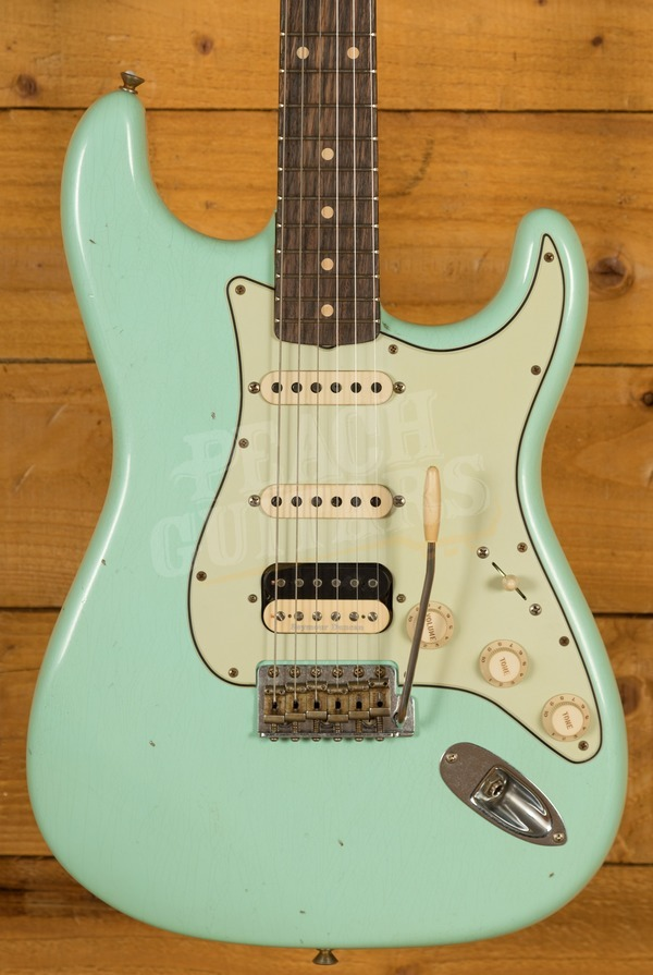 Fender Custom Shop '61 Strat HSS Aged Surf Green