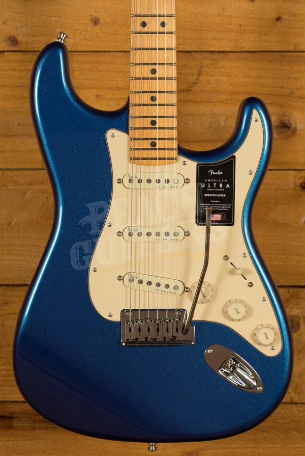 Fender American Ultra Stratocaster Maple Cobra Blue
