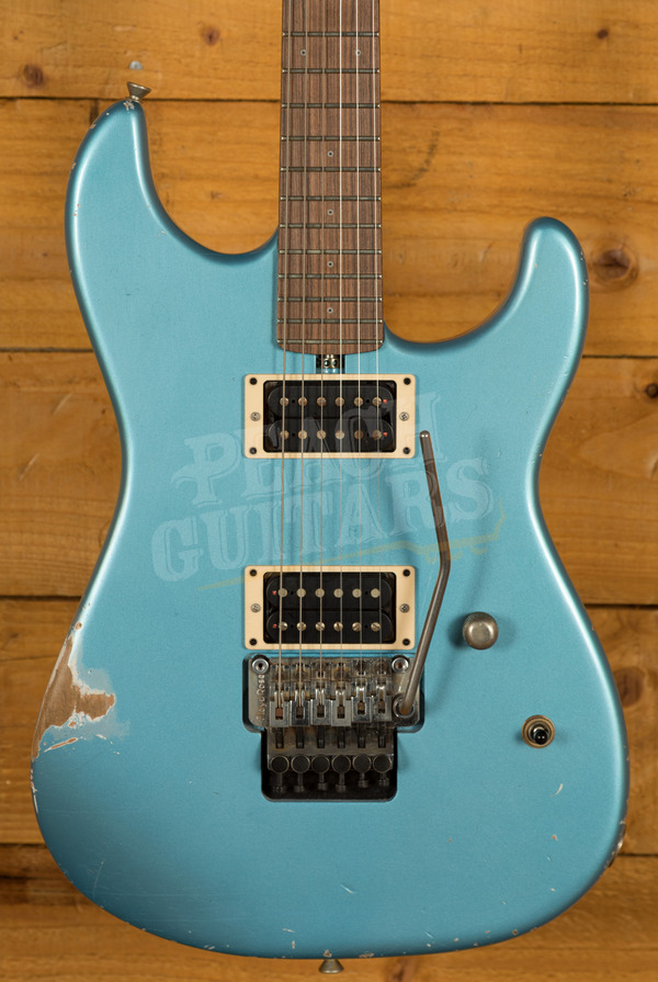 Friedman Cali Metallic Blue Medium Aged Pau Ferro