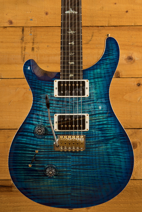 PRS Wood Library Custom 24 Custom Colour Ziricote FB Left Handed