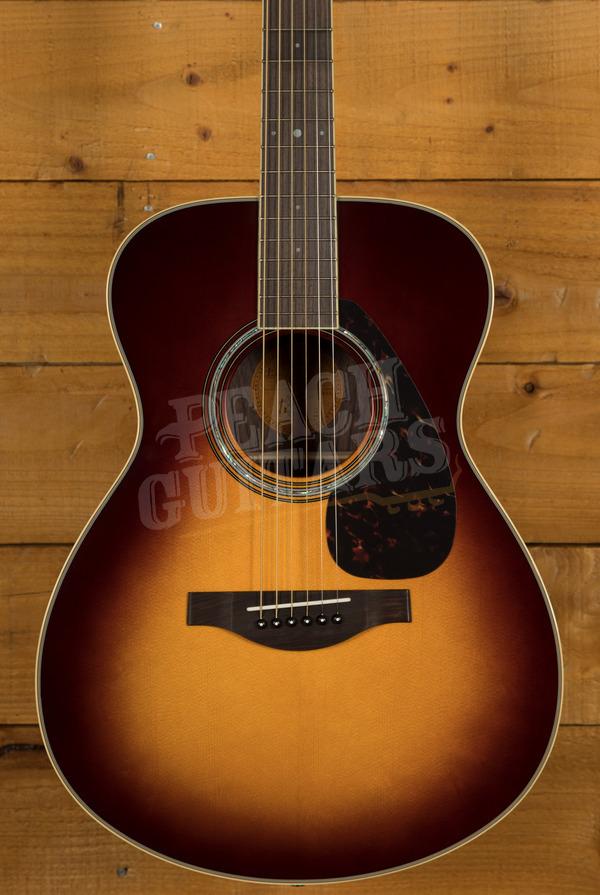 Yamaha LS6 ARE - Brown Sunburst Electro/acoustic with Hard Bag