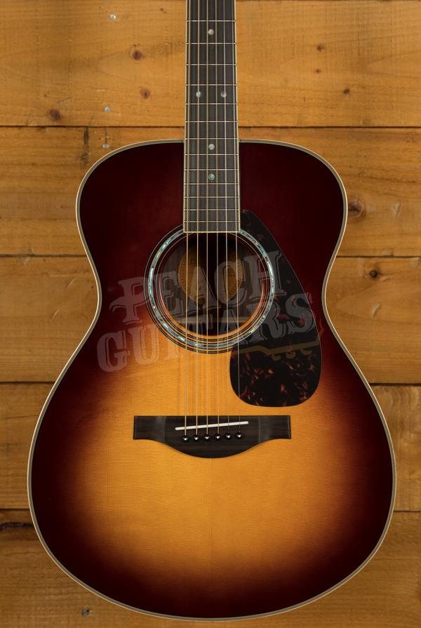 Yamaha LS16 ARE - Brown Sunburst Electro/acoustic with Hard Bag