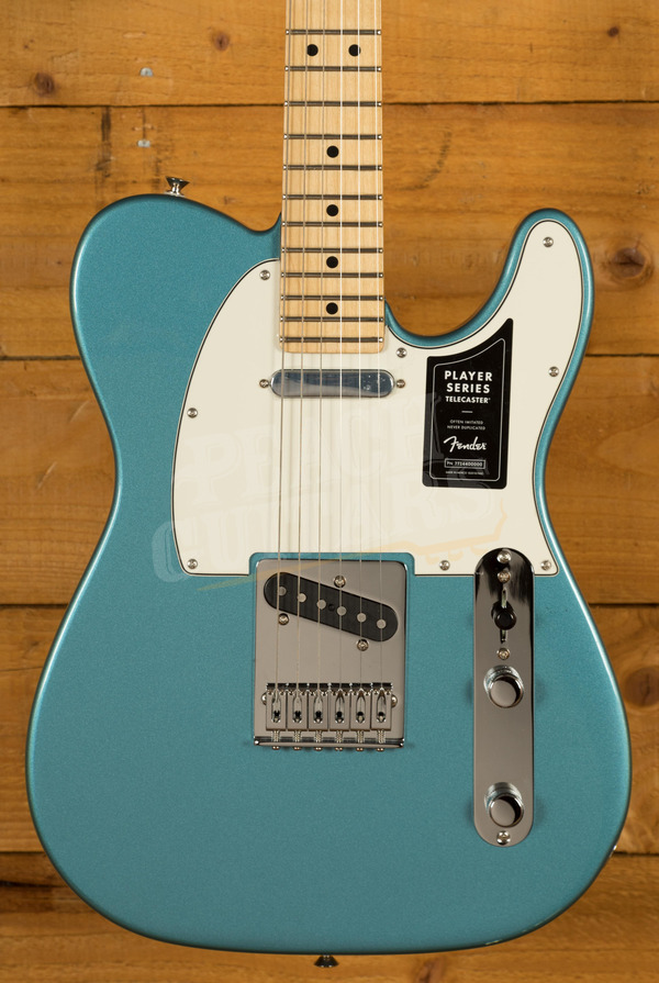 Fender Player Series Tele Maple Neck Tide Pool Blue