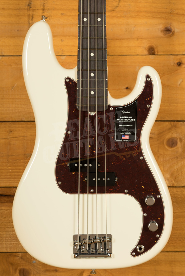 Fender American Professional II Precision Bass Olympic White Rosewood