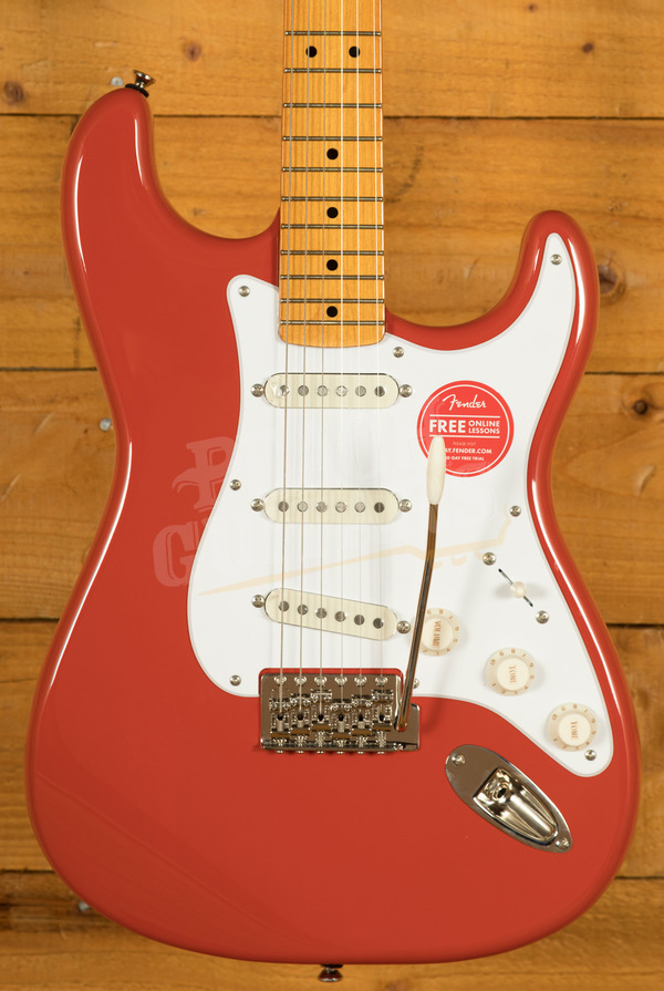 Squier Classic Vibe 50's Stratocaster Fiesta Red