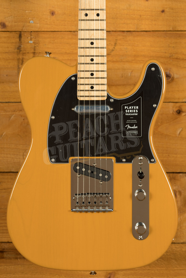 """Fender Player Series Tele Maple Butterscotch Blonde """"51 Nocaster"""" - Limited Edition"""