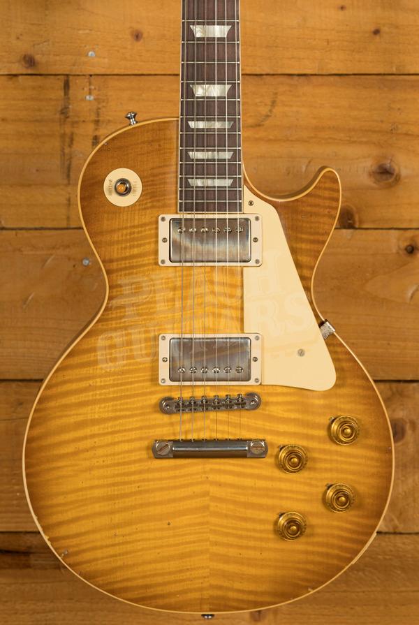 Gibson Custom Murphy Lab HP Top 59 Les Paul Dirty Lemon Burst Light Aged Murphy Paint Used