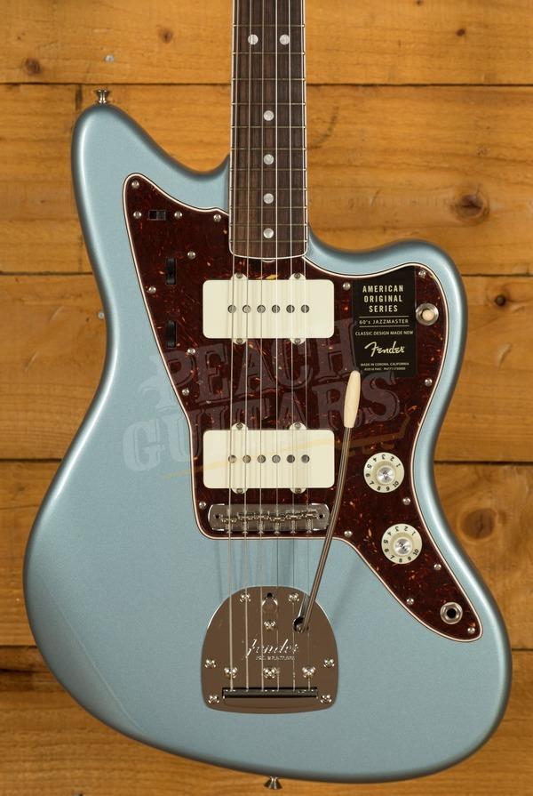 Fender American Original 60's Jazzmaster Ice Blue Metallic