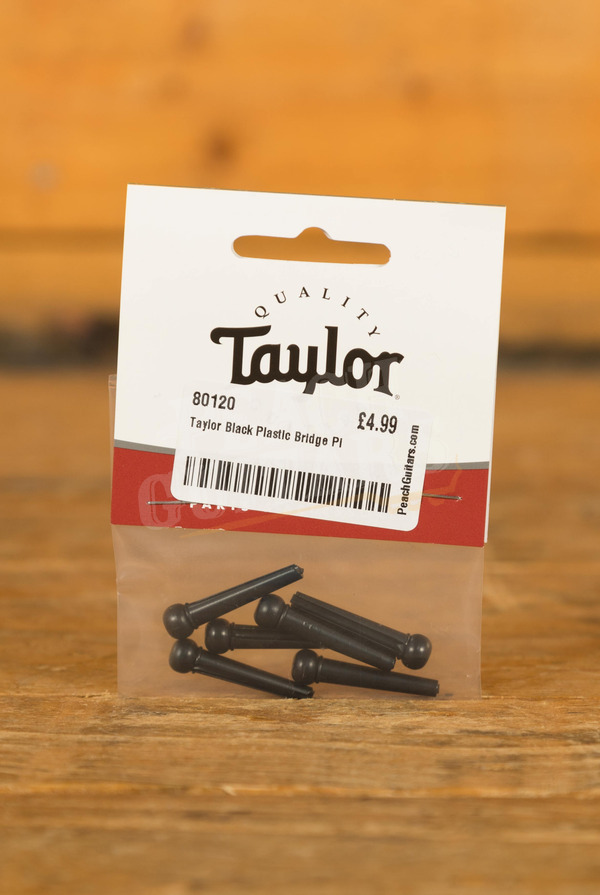 Taylor Black Plastic Bridge Pins Set of 6