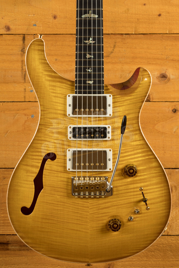 PRS Wood Library Special Semi-Hollow McCarty Sunburst w/ Flame Maple Neck