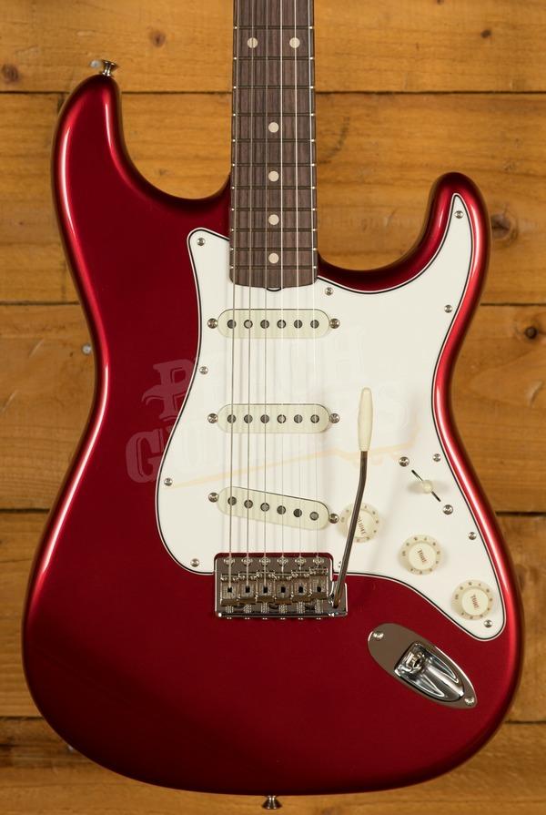Fender Custom Shop '62 Strat NOS Rosewood Candy Apple Red
