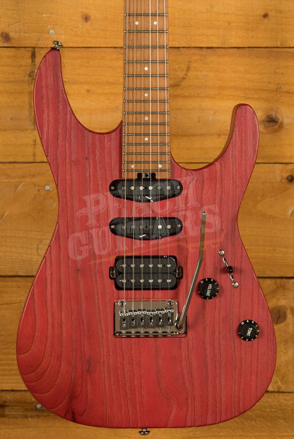 Charvel Pro Mod DK24 HSS 2PT CM Caremelized Maple Red Ash