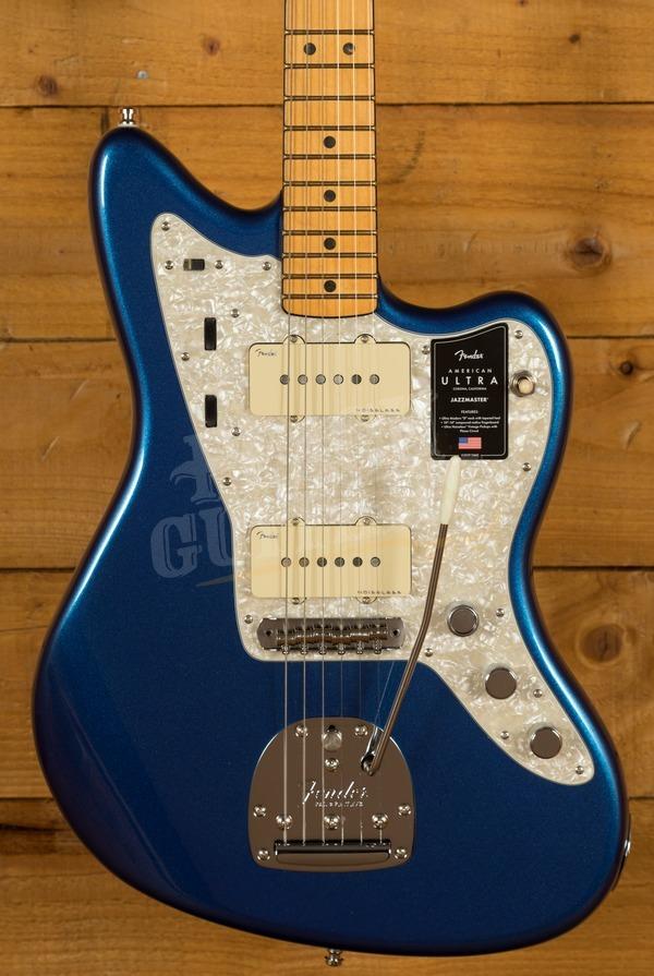 Fender American Ultra Jazzmaster Cobra Blue