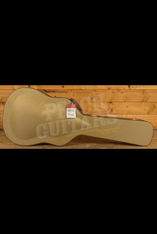 Stagg GCX-W Gold Tweed Western Guitar Case