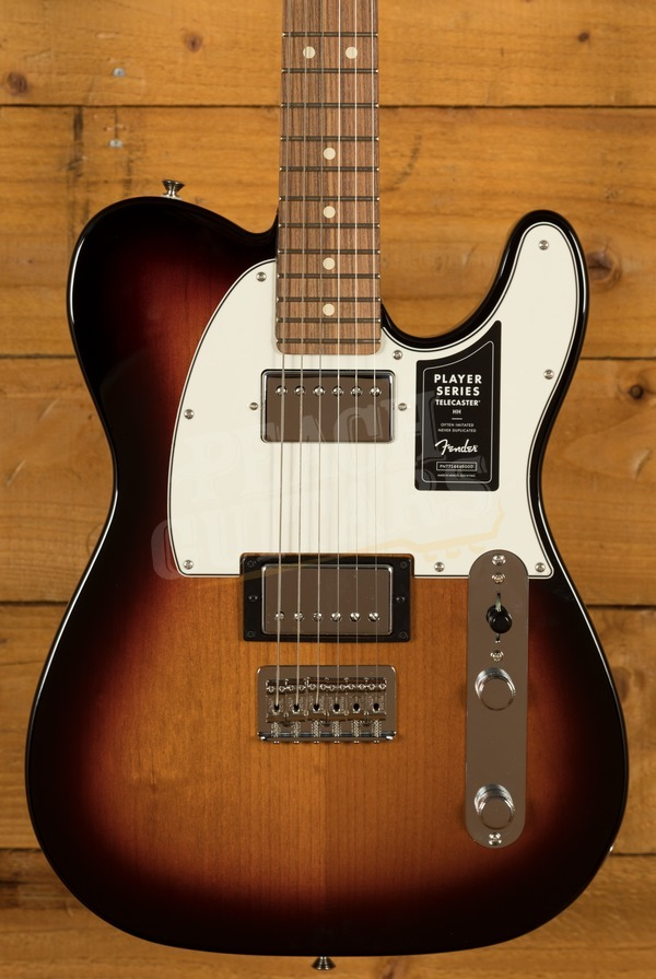 Fender Player Tele HH Sunburst Pau Ferro
