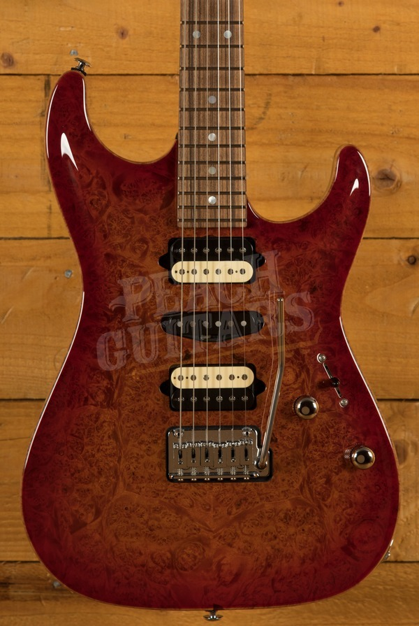Suhr Carve Top Standard Burl Maple Top - Used