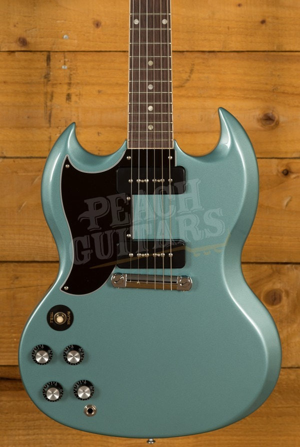 Gibson SG Special - Faded Pelham Blue Left Handed