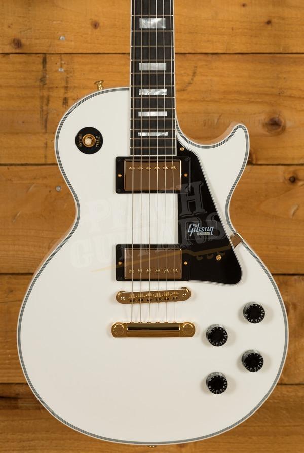 Gibson Custom Les Paul Custom w/ Ebony Fingerboard Gloss Alpine White